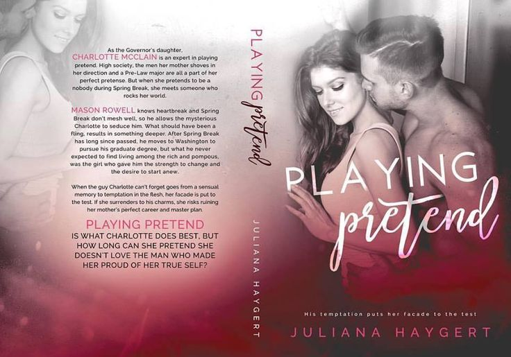 Cover Reveal Playing Pretend By Juliana Haygert