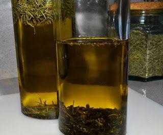 ChupChupChup: Aceite aromatizado con orégano y tomillo
