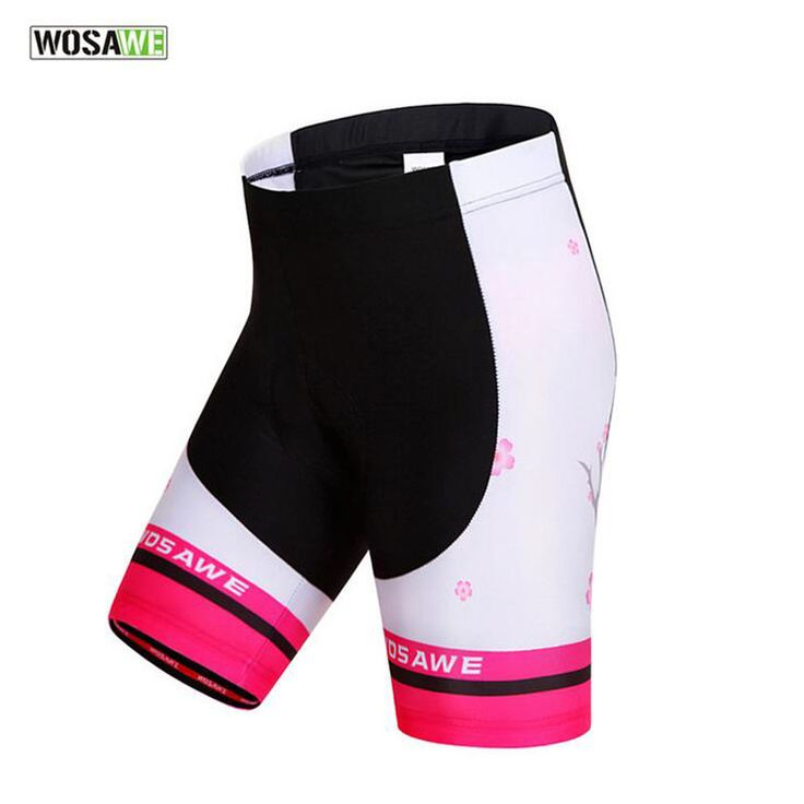 WOSAWE Cycling Shorts Women Gel Pad Mountain Bike Shorts Bicycle Coolmax Bermuda Mtb Bicycle Shorts Clothings Cycling Tights 50. Yesterday's price: US $39.99 (36.38 EUR). Today's price: US $21.99 (18.20 EUR). Discount: 45%.