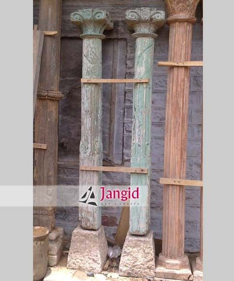 Antique Wooden Columns : Best images about indian traditional antique items on