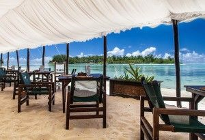Dine at Pacific Resort Rarotonga's Sandals Restaurant - #pacificresort…