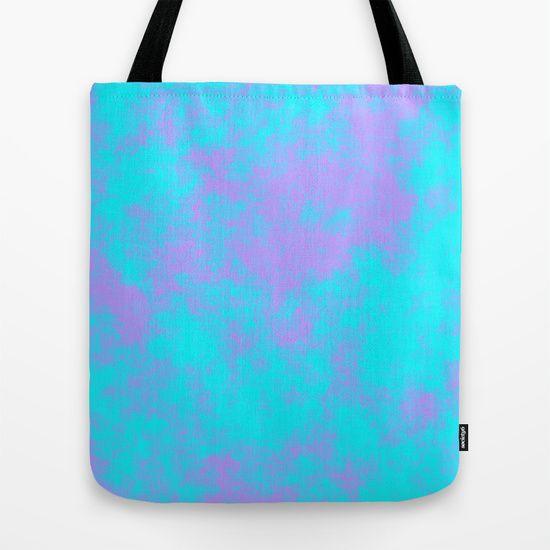 Cotton Candy Clouds - Purple & Blue Tote Bag #totebag #cottoncandy #clouds #purple #blue #society6