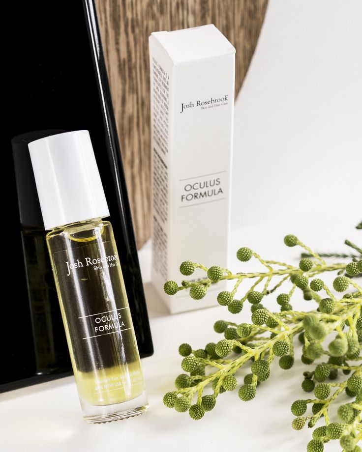 The #JoshRosebrook #OculusFormula is a unique blend of blueberry, neem, hemp, eyebright and slipper lem that softens and smooths the #skin around the eyes. This super lightweight and fast absorbing #eyeserum delivers potent antioxidant protection and essential fatty acids to the delicate skin around the eye. This day or night essential dispenses the perfect amoun to serum thanks to the easy to apply rollerball applicator on the bottle. #BeautyHeroes