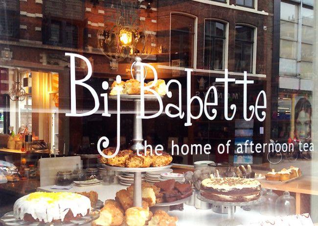 Bij Babette: dé plek in Haarlem voor thee en taart - Haarlem City Blog