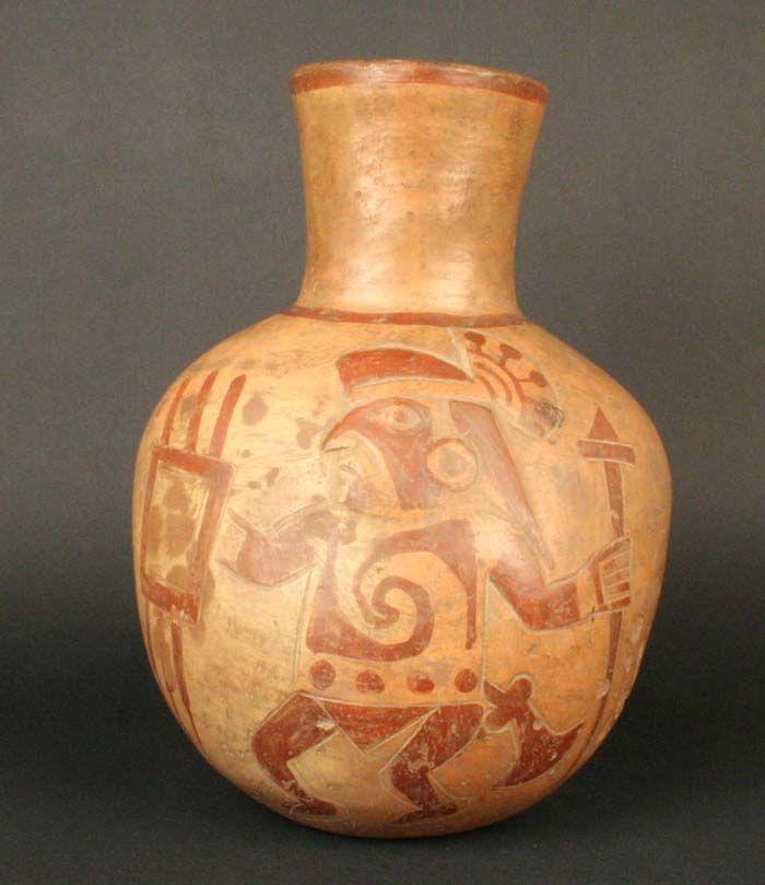 Museo Chileno de Arte Precolombino » Cántaro: representación pictórica