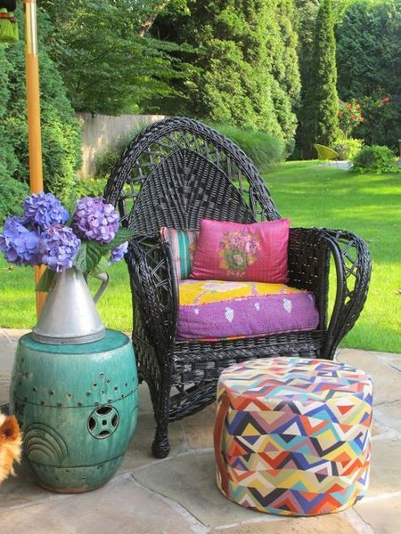 http://theaccessorator.com/. The look I'm going for with the spare chair for porch