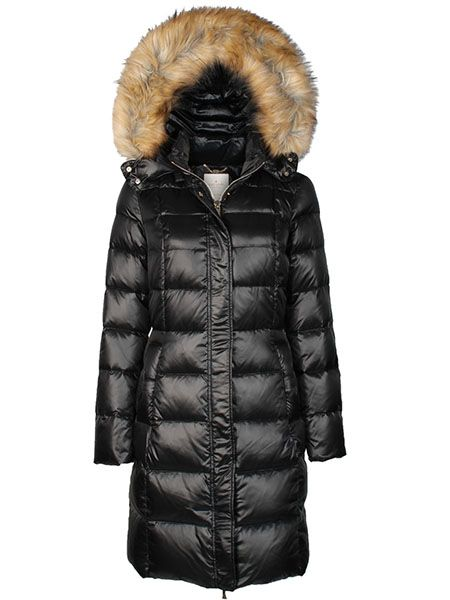 WOMEN's LONG QUILTED COAT