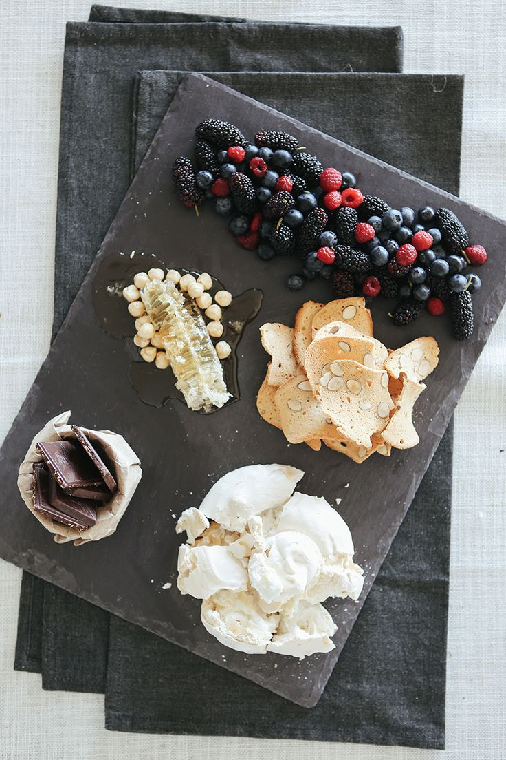 Handcrafted Welsh Slate Cheese Platter - Large, $34.95 by Annabell Stone, available online at www.annabellstone.com.au . Photography by Elise Hassey