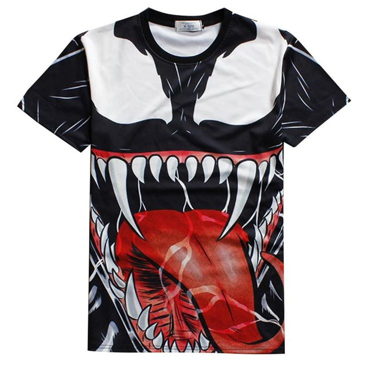 Venom Tee - 3D Print //Price: $20.00 & FREE Shipping //     #batman #deadpool #marvelc #dc