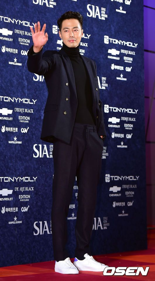 [OSEN] 2014/10/28 JoInSung @  2014 Style Icon Awards(SIA) - Red carpet