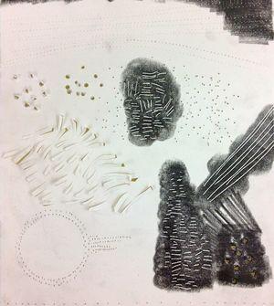 Jill Ehlert: Making Marks through Actions: Scoring, Cutting, Puncturing, Piercing, Incising, Rubbing, Frottage, Hammering.  IMG_3275.jpg