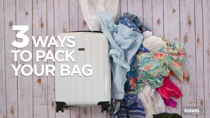 3 Smart Ways to Pack a Suitcase