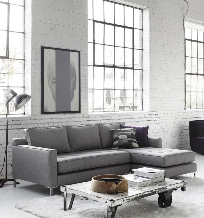 Draper Sofa with Flip Chaise   G-Romano
