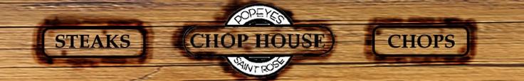 Popeye's Chop House, St. Rose, IL