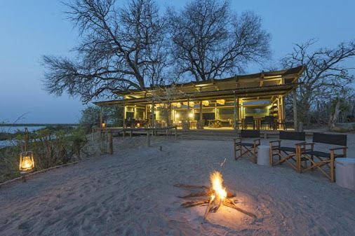 If you want to get back in touch with a 'real' safari, where you can wiggle your feet in the river sand as the soft evening light creeps in after the sun has slipped down and the campfire leaps to life, then Linyanti Tented Camp is the perfect spot.