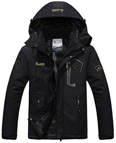 Men's Winter Snow Jacket Our Brand: Sawadikaa Item Type: Mountain Jacket/ Winter Jacket/ Fleece Jacket Pattern: Solid Color Fabric: Shell—– 100% Waterproof Nylon, Inner Lining —- 100% Polyester Selling Points: Ultra Warm/ Bodywarmer/ Waterproof/ Windproof/ Dry Fast...  More details at https://jackets-lovers.bestselleroutlets.com/mens-jackets-coats/trench-rain/product-review-for-sawadikaa-mens-outdoor-waterproof-mountain-fleece-plus-size-ski-jacket-spo