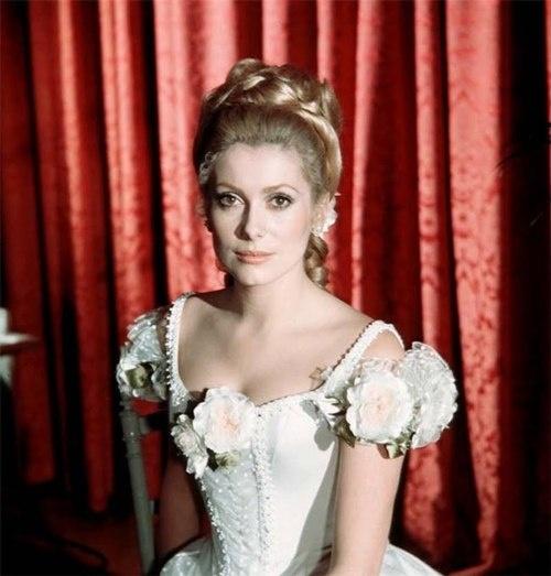 Catherine Deneuve as Maria Vetsera - lover of Archduke Rudolf in Mayerling (1968) based on true story