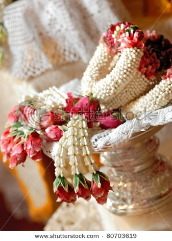Thai wedding garland