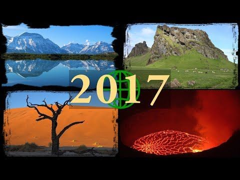 2017 Rewind: Amazing Places on Our Planet in 4K Ultra HD (2017 Year in Review) - YouTube