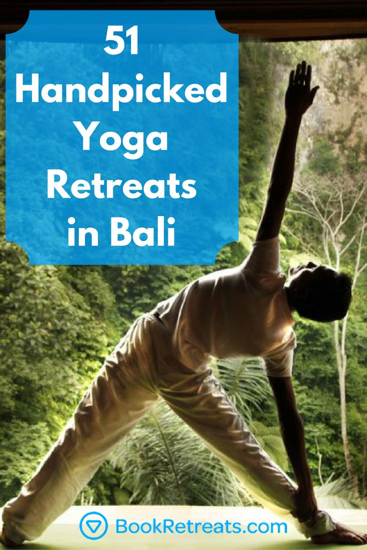 You've always wanted to go to Bali. Why not take a peek at the yoga retreats and relaxing holidays waiting for you in Bali?  #yogaretreats #holiday #vacation #travel #bali #yoga