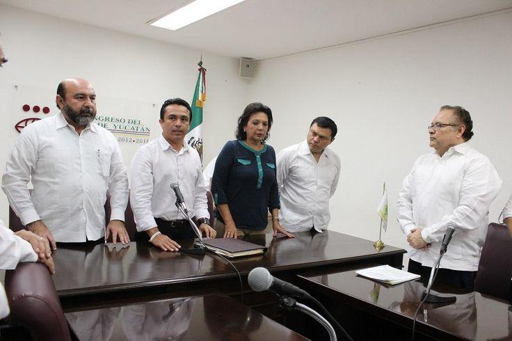 LX legislatura recibe tres iniciativas en materia del nuevo sistema de justicia penal