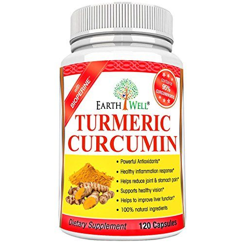 Turmeric Curcumin Extract Pure Standardized to 95 Curcuminoids  Healthy Antiinflammatory Supplement  650mg  Best Natural Chronic Pain Reliever With No Side Effects  120 capsules ** Find out more about the great product at the image link.