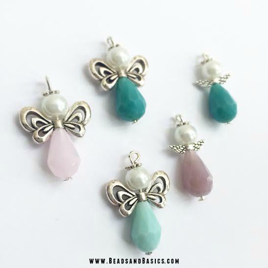 Engeltje van kralen DIY Tutorial Beads- Online Kralen Kopen   Beads & Basics - Armbandjes maken, sieraden inspiratie