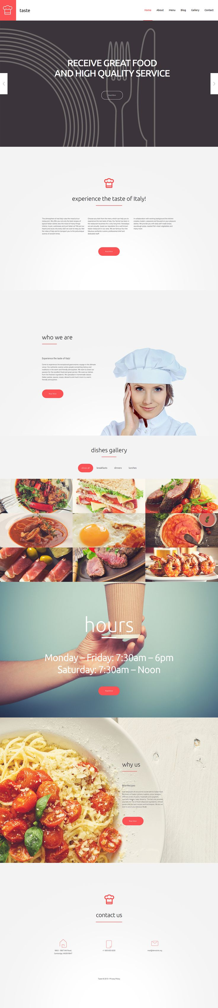 Catering WordPress Template for Restaurant Website #food #tasty  http://www.templatemonster.com/wordpress-themes/55690.html?utm_source=pinterest&utm_medium=timeline&utm_campaign=55690