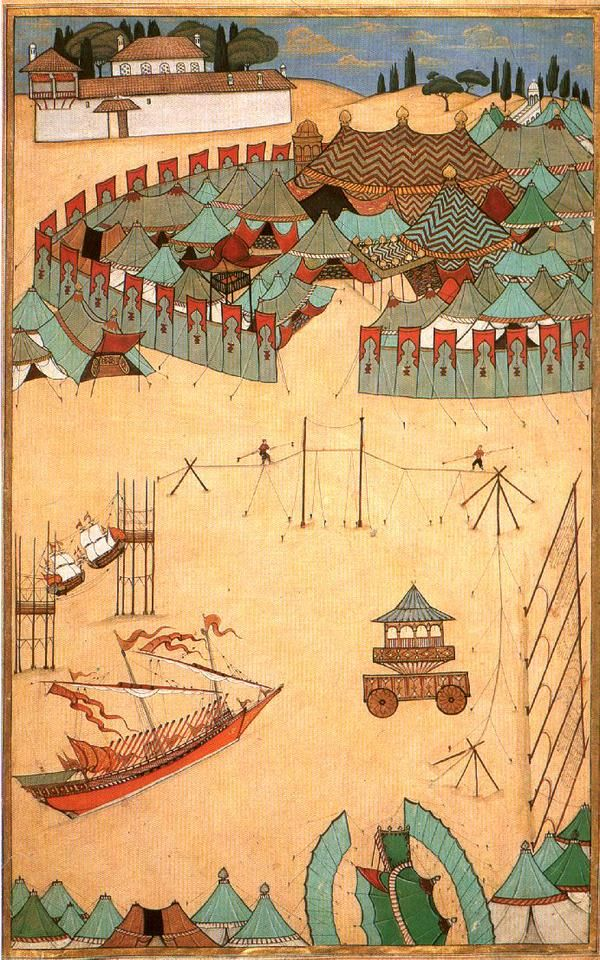 1520′ler, İstanbulMatrakçı Nasuh #istanlook