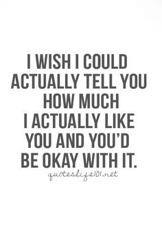 Because I've know for a long time now the real truth, but I just cant tell you yet... :( <3 <3 <3