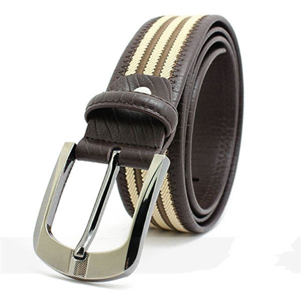 Mens Needles Buckle With Belts Fashion Casual Belts