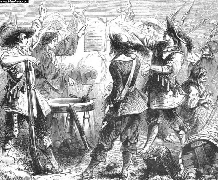 Enrôlement pour la Guerre de Trente ans