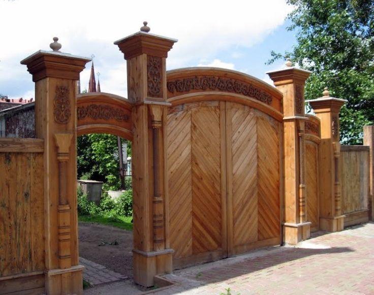 деревянные ворота россии - Поиск в Google