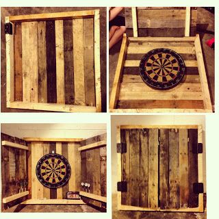 Upcycling Creations - Turning Trash Into Treasure: Pallet Dart Cabinet