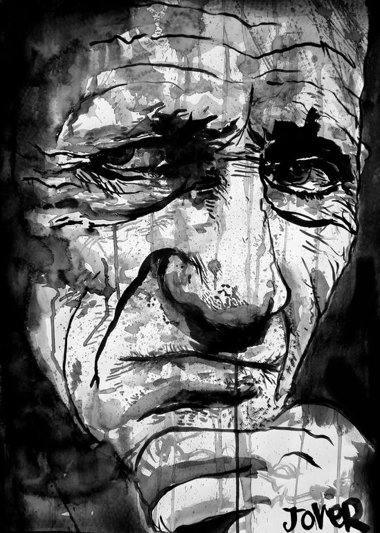 """Saatchi Online Artist: Loui Jover; Pen and Ink, Drawing """"age"""""""
