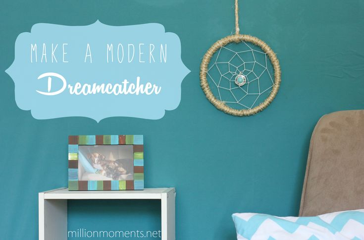 This is a simple step by step guide to make an elegant and modern dreamcatcher. Follow along and make your own!