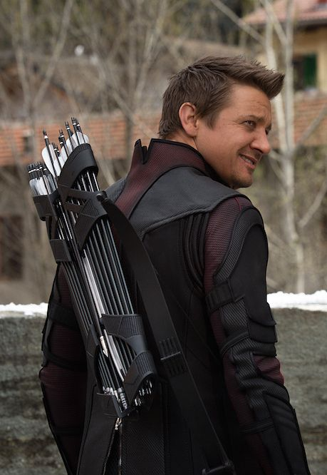 "AGE OF ULTRON SPOILERS The Reason Behind Hawkeye's Big Secret In ""Age Of Ultron"". THAT SMIRK THOUGH!"