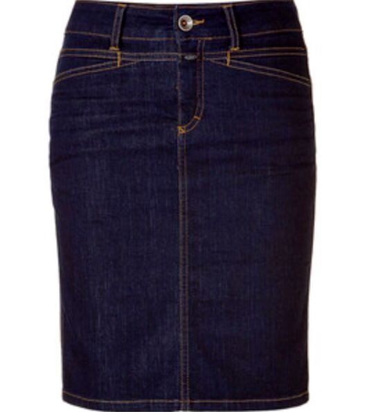 1000 ideas about knee length denim skirt on
