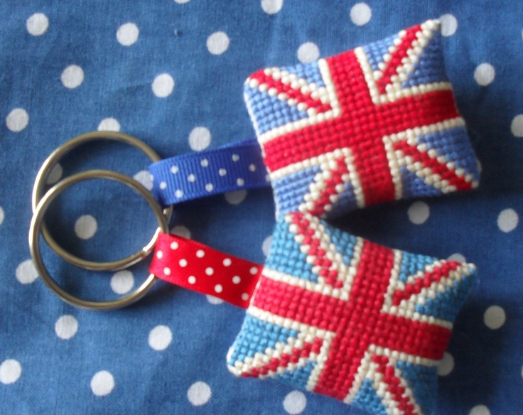 How cute are these for your keys or as a bag charm?