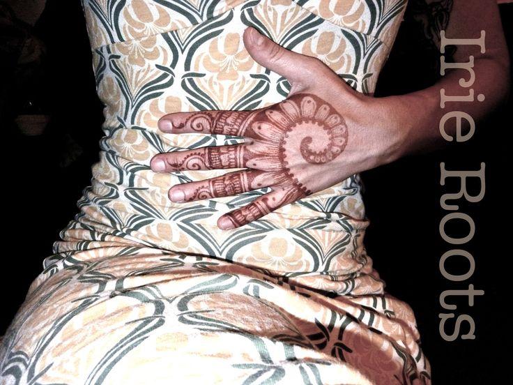 Fibonacci inspire me. Sacred geometry. Henna by Irie Roots