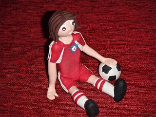 P-ART-Y: How to make a Soccer figurine Cake Topper?