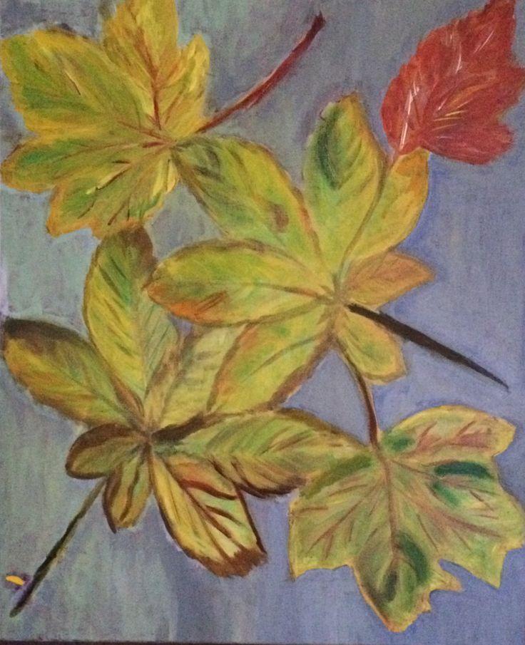 Autumn, Oil on canvas, 50 x 50