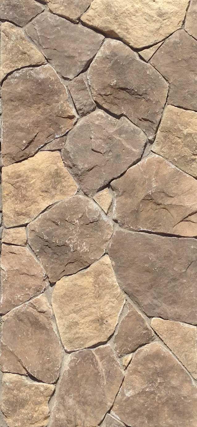 Modelo Field Stone mezcla de colores