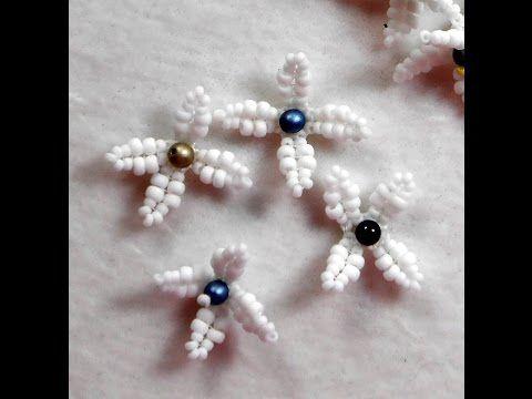 Beaded Forsythia Flowers ~ Seed Bead Tutorials