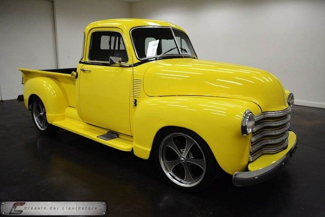 1952 Chevy truck..Re-pin Brought to you by Agents of #carinsurance at #HouseofIns in #EugeneOregon