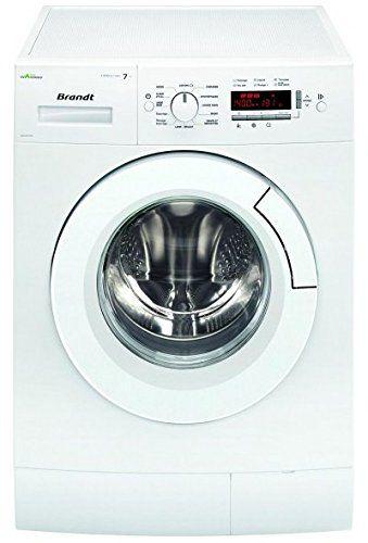 Brandt BWF47TWW Autonome Charge avant 7kg 1400tr/min A+++ Blanc machine à laver – machines à laver (Autonome, Charge avant, A+++, A, B,…