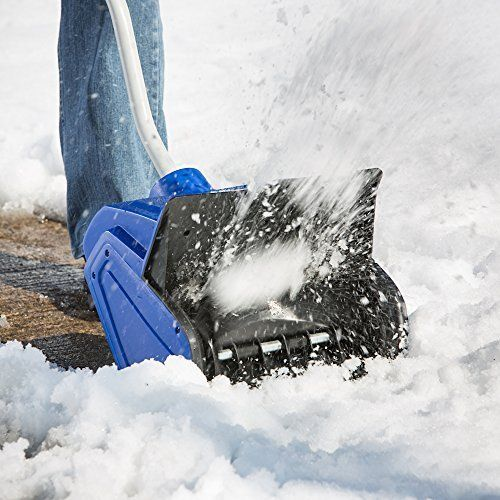 Electric Snow Shovel 13-Inch 10-Amp Moves Up To 400 Lbs Of Snow Per Minute #SnowJoe