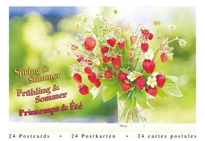 Tushita Postcard Book   Spring & Summer