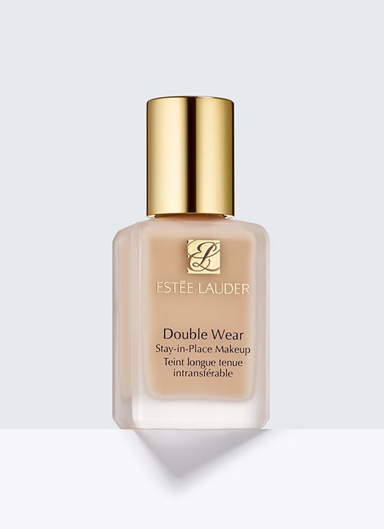 Double Wear, Stay-in-Place Makeup - 15-hour staying power. Flawless all day. This worry-free, long-wearing makeup stays fresh and looks natural through heat, humidity, nonstop activity. Feels lightweight and comfortable. Medium coverage. Natural finish. Oil-free.