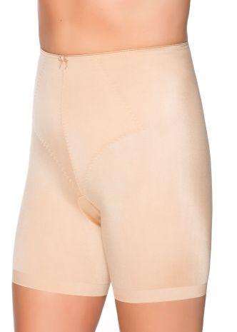 """""""Yara"""" hold-in-trosa med långa ben. Mjuk mikrofiber som inte ger kanter eller skär in i lår! Perfekt för kurviga kvinnor som vill ha klänning eller kjol på sommaren utan att få skavsår :P"""